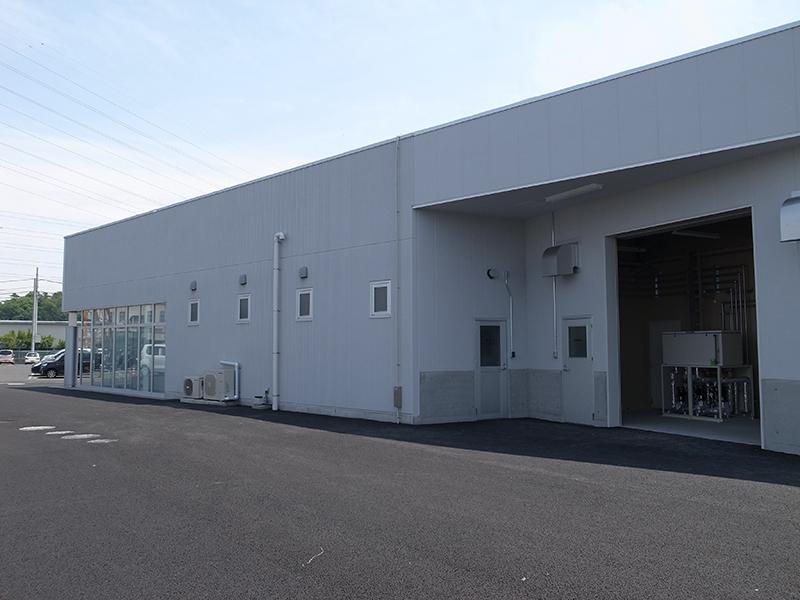 坂本工業燃料実験棟