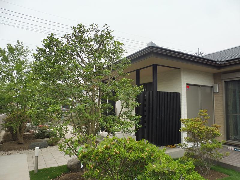飯田町の平屋