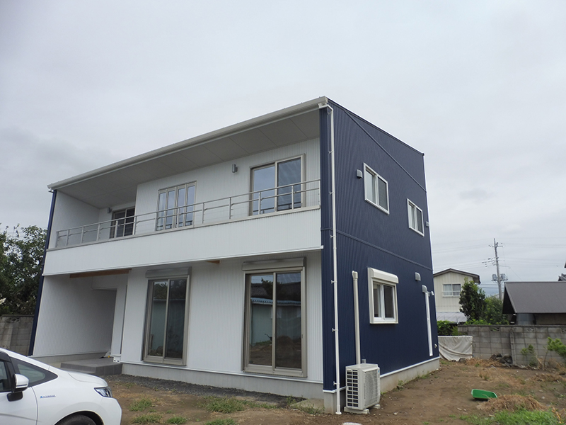 二つ小屋の家